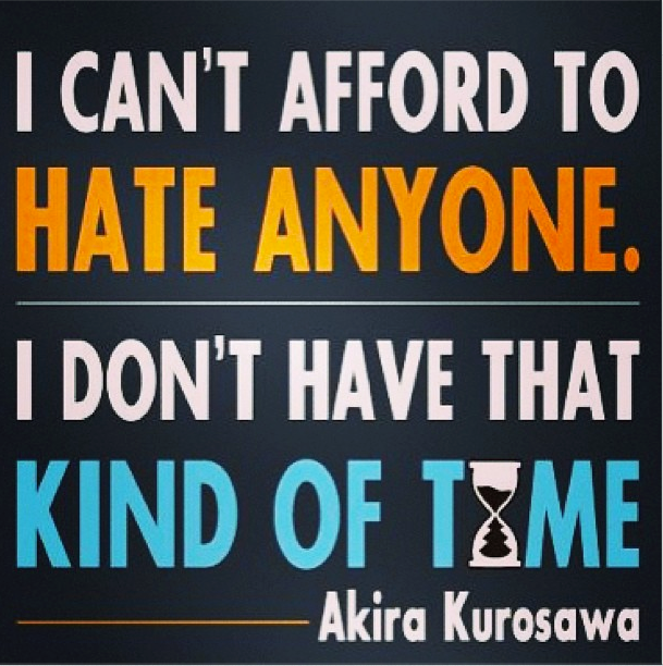 I Can 39 T Afford To Hate Anyone I Don 39 T Have That Kind Of