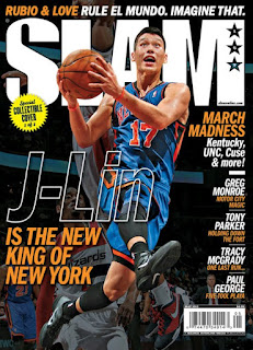 slam magazine, jeremy lin, new york knicks