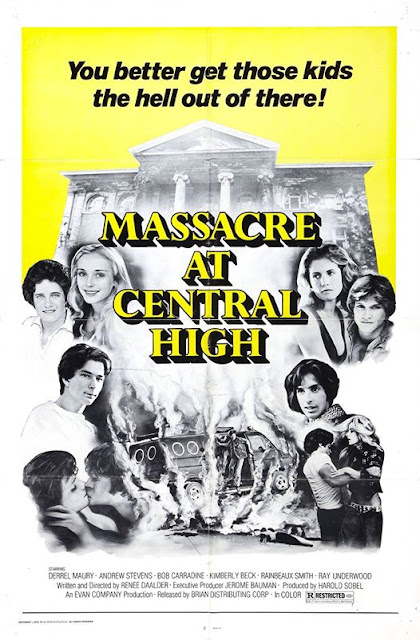Massacre at Central High Synapse Films Blu-ray