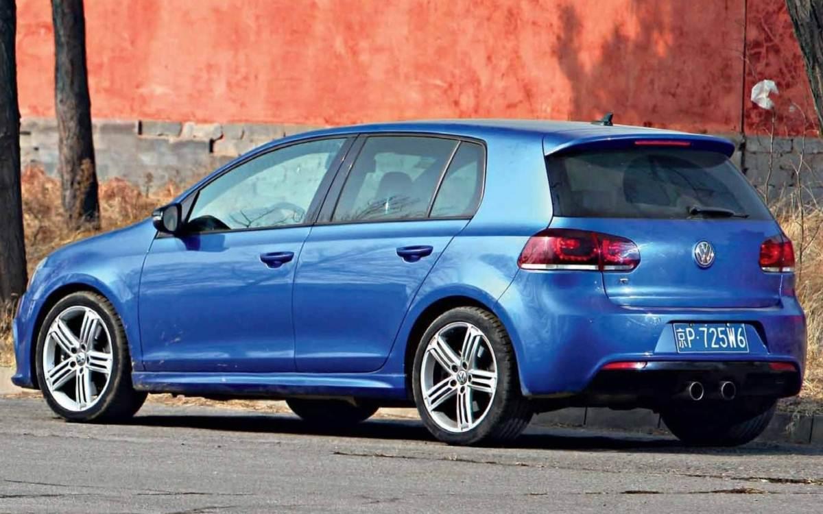 Volkswagen Golf 6ª geração - China