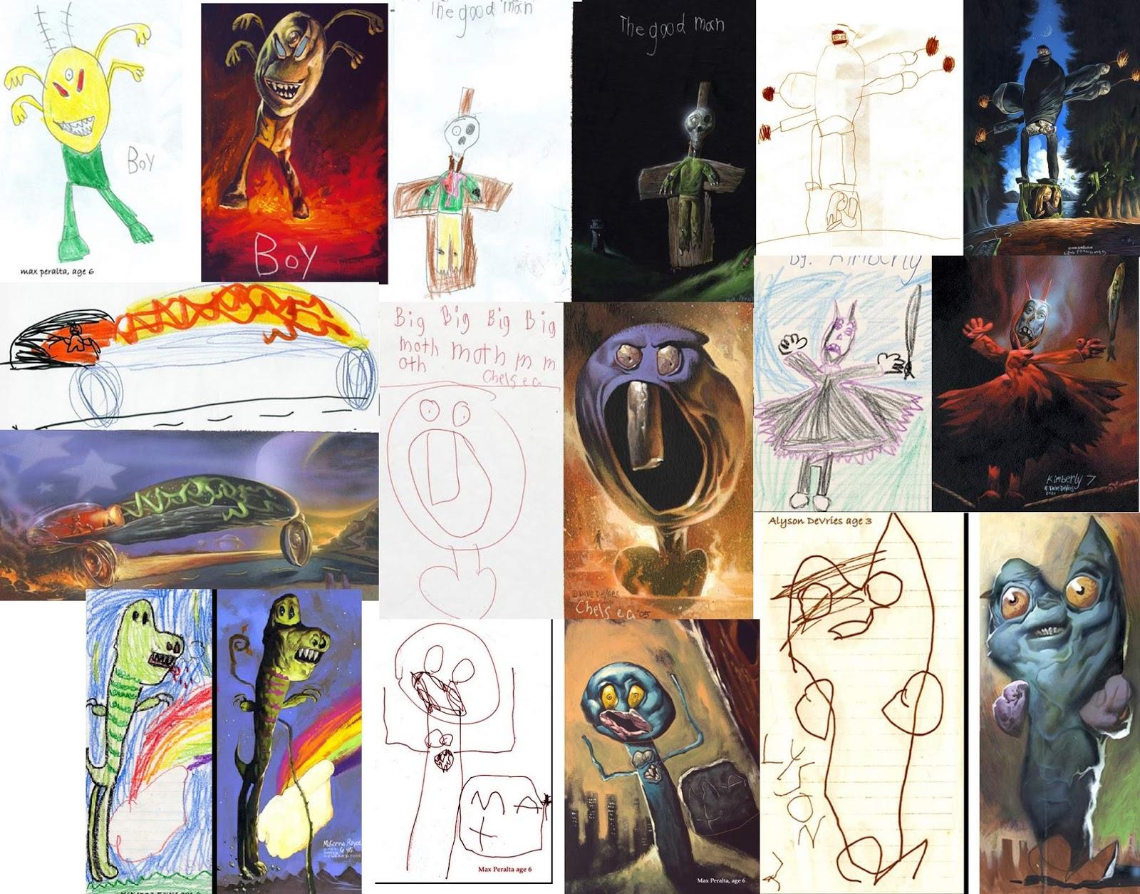 Didáctica de las artes plásticas: El dibujo infantil