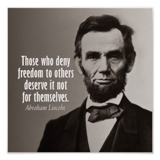 Lincoln would make a great Libertarian...