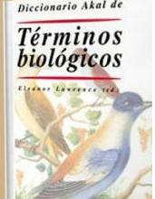 Diccionario Akal de términos biológicos