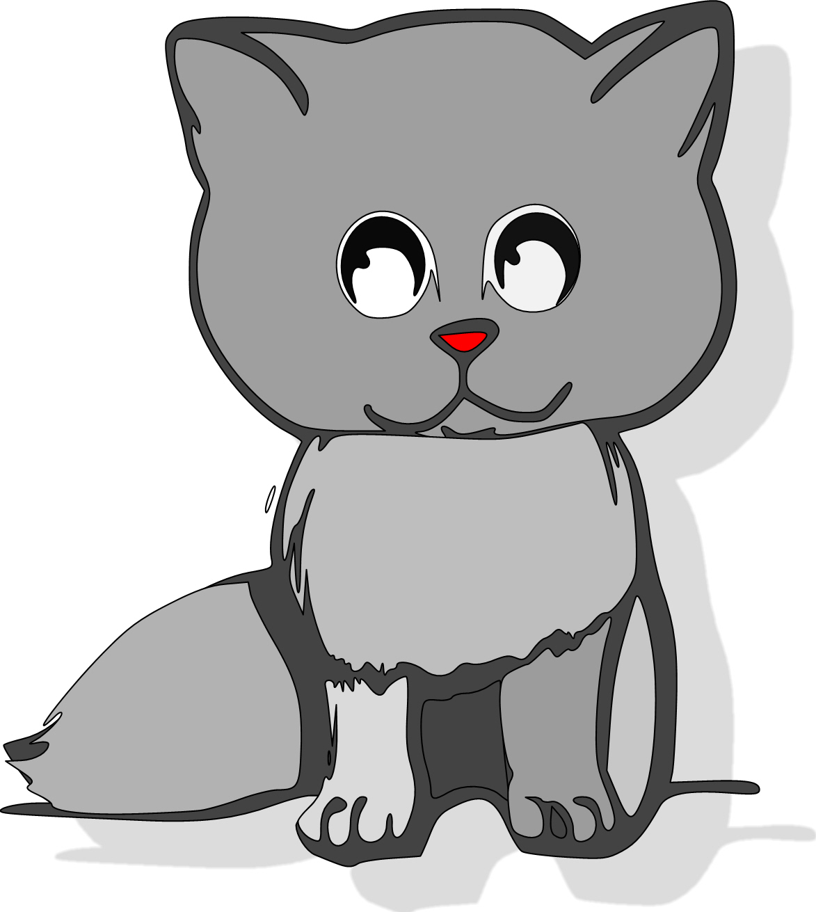 Cartoon cat freebie
