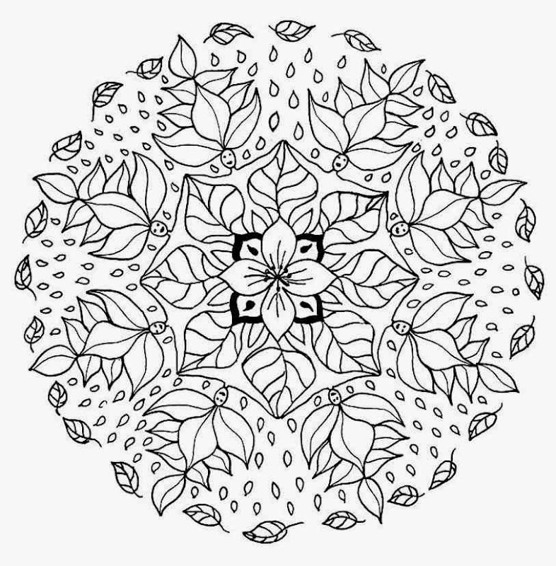 big flower coloring pages - photo#21
