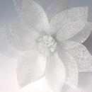 Fleurs DIY en mousse d'emballage