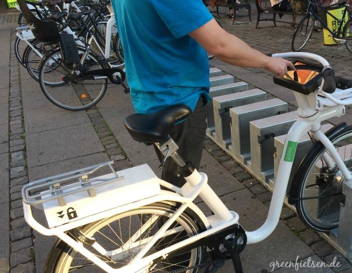 gobike - öffentliches Fahrradverleihsystem in Kopenhagen