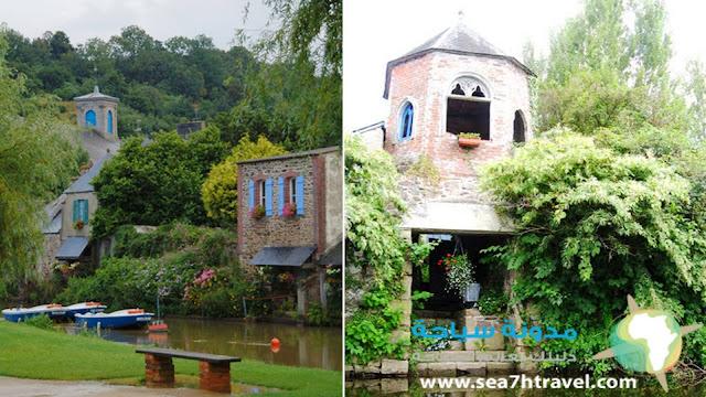 قرية بونتريو في فرنسا Pontrieux