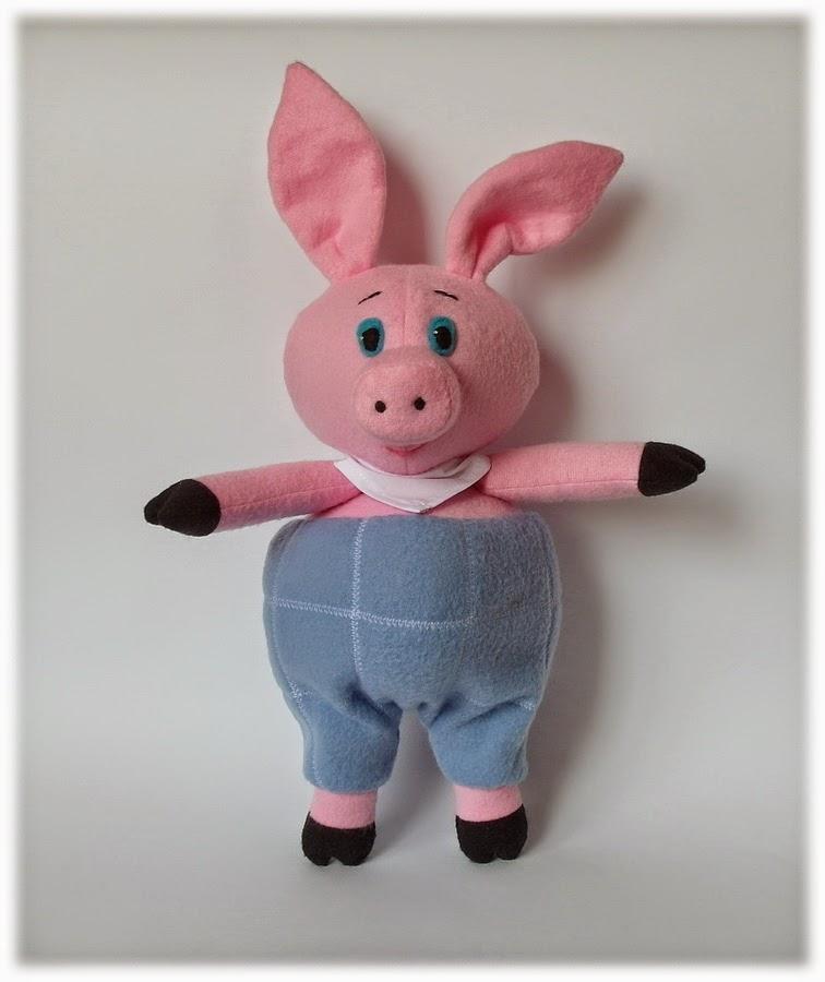 Пятачок свиньи своими руками 69