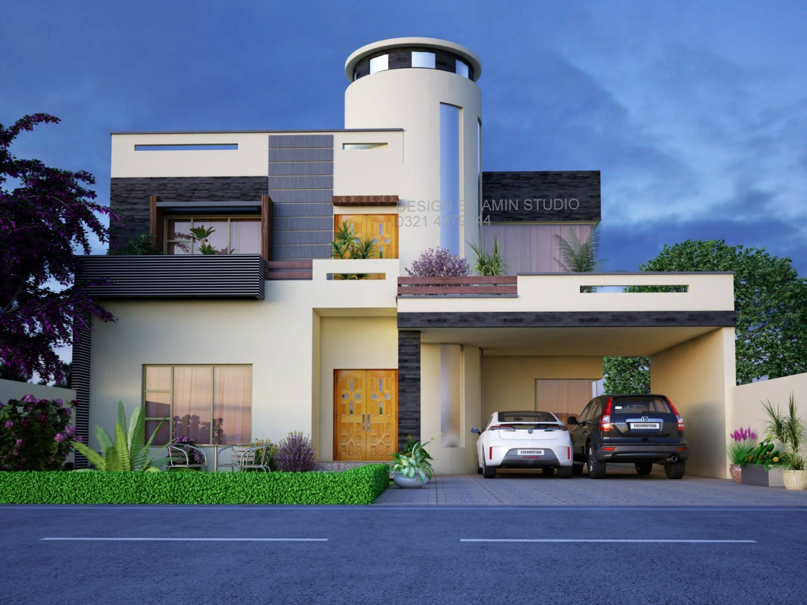 House design karachi - One Kanal House Design Pakistan