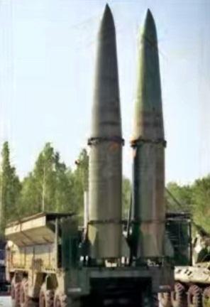 Gambar foto dekat rudal balistik 9K720 iscander missiel from Indonesian.