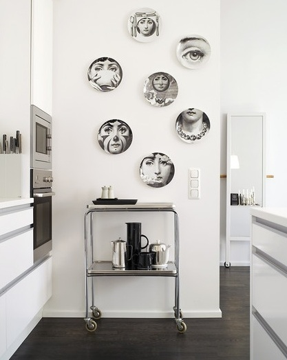 fornasetti wall plates