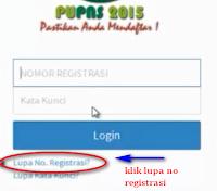 cetak ulang bukti registrasi
