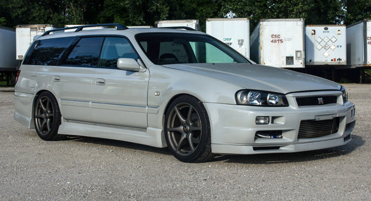 Nissan Stagea R34 Gt R Wagon Will Make You The Coolest Kid