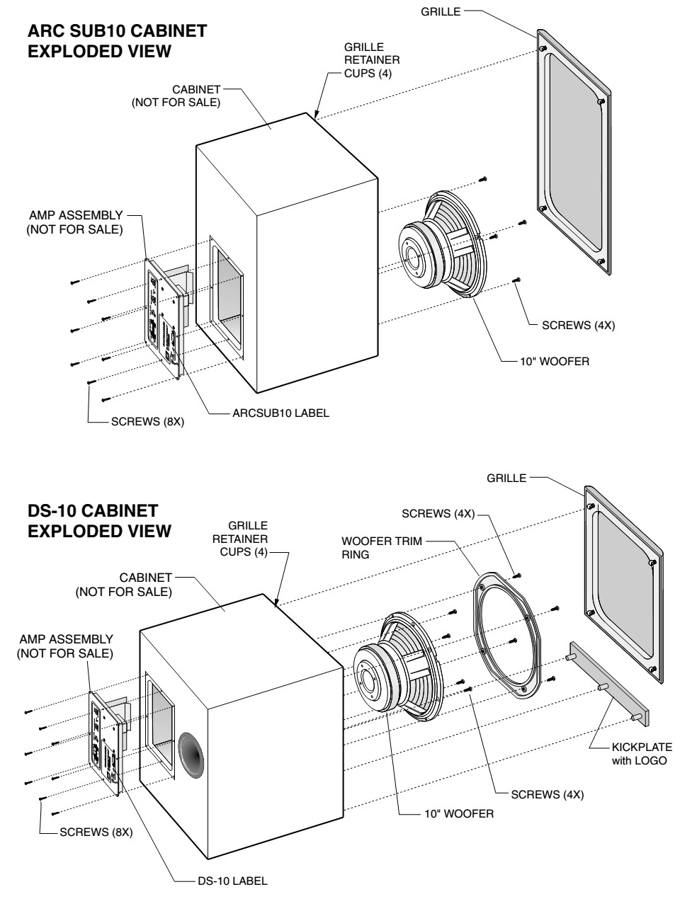 Jbl Subwoofer Wiring Diagram : Wiring diagram circuit jbl arc subwoofer power amp