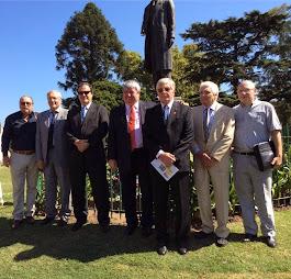 Celebración del Día Internacional de Rotary, organizado por El Comité Permanente del Monumento a Pa