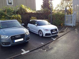 Audi A1 Quattro spottet in Berlin
