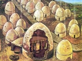 Chipre - pueblo neolítico de Khirokitia - Historia de las Civilizaciones
