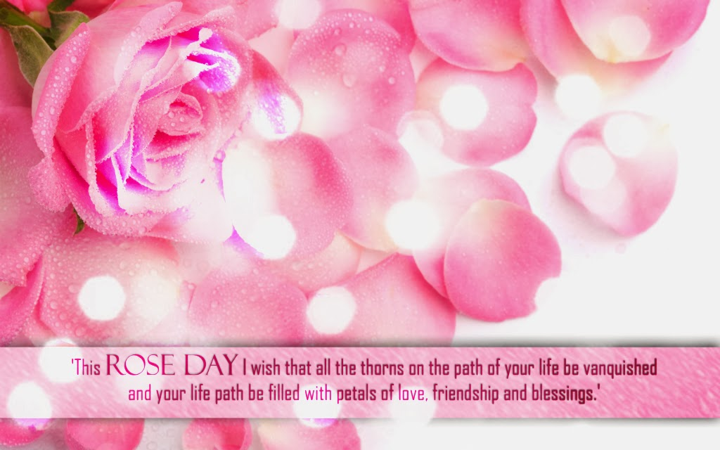 Happy rose day rose sms text message and images 2015
