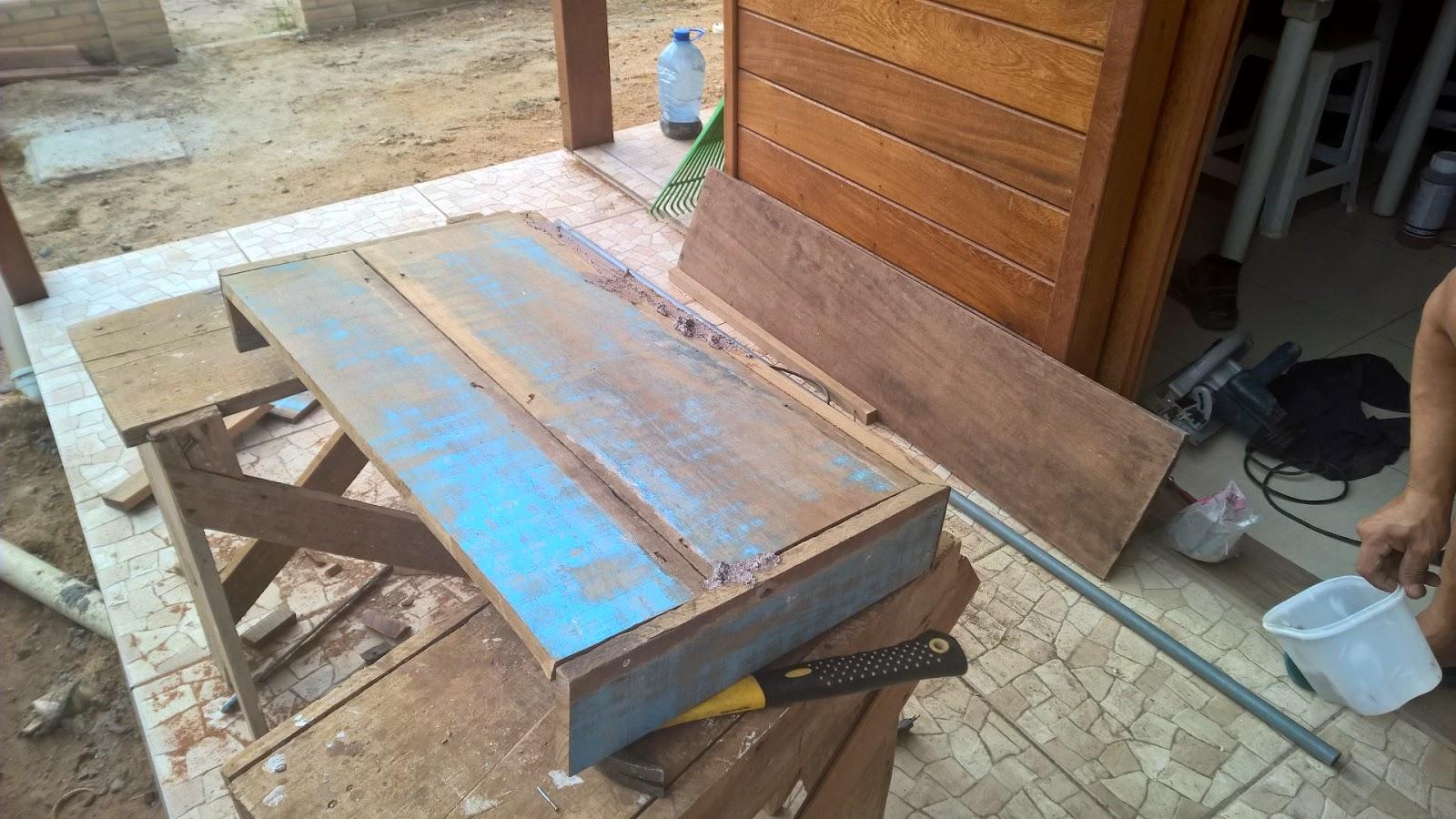Bancadas de Banheiro de Madeira de Demolição ~ Blog Tudo Junto e  #2976A2 1600x900 Balcao Banheiro Rustico