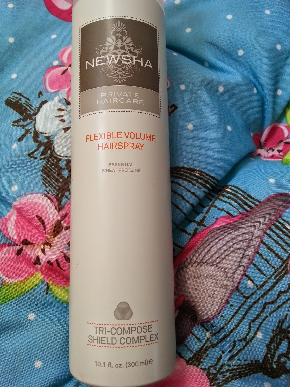 Newsha - Flexible Volume Hairspray - www.annitschkasblog.de