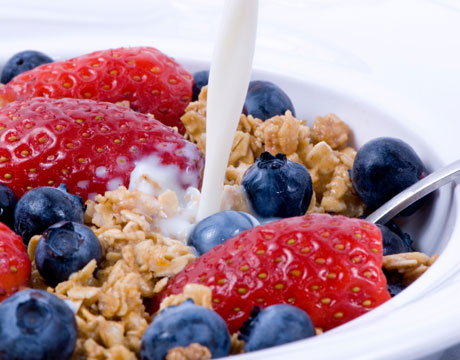 Choose healthy breakfast cereals