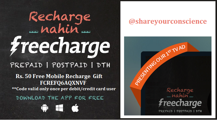 Get 50 Rs. cashback on the recharge