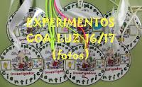 EXPERIMENTOS COA LUZ 16/17
