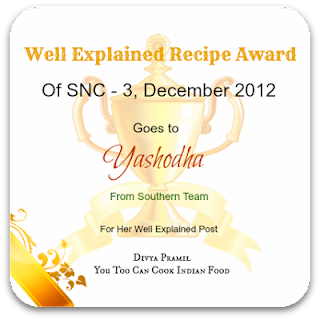 Thanks for this wonderful award of SNC - 3