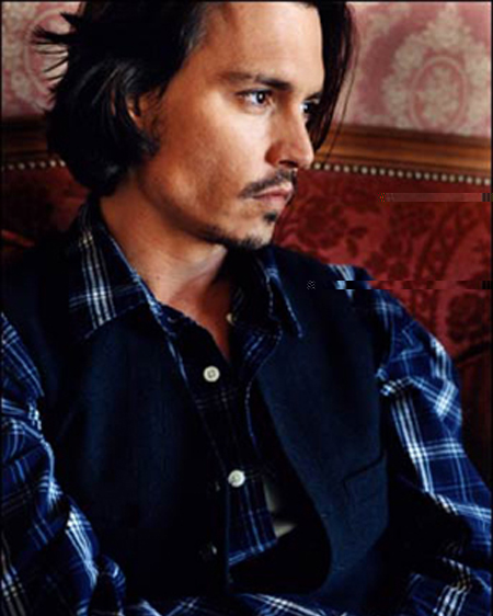 Johnny Depp Hairstyle 11