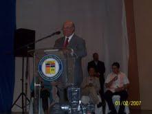 Hipólito Mejía realiza conferencia en el IPL,juramenta a Vitico Pimentel y su movimiento y encabeza caravana