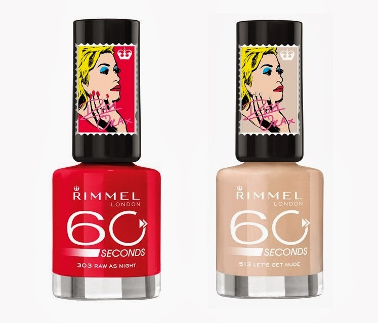 Rita Ora For Rimmel Spring 2014 Capsule Collection