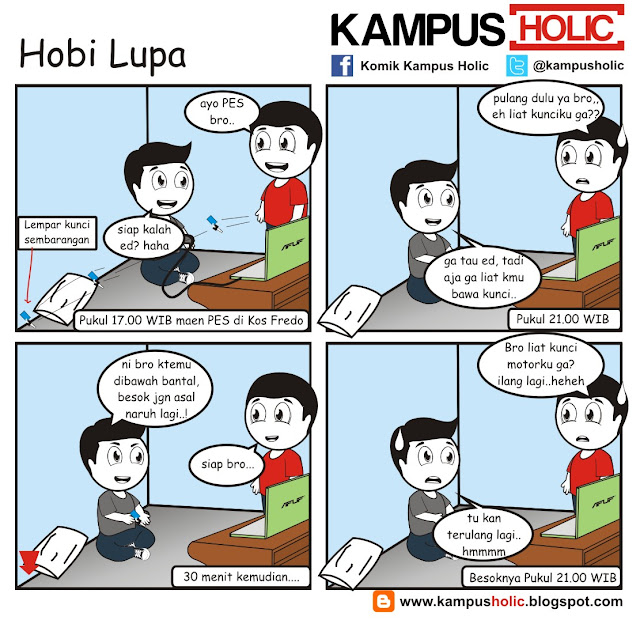 #122 Hobi Lupa mahasiswa