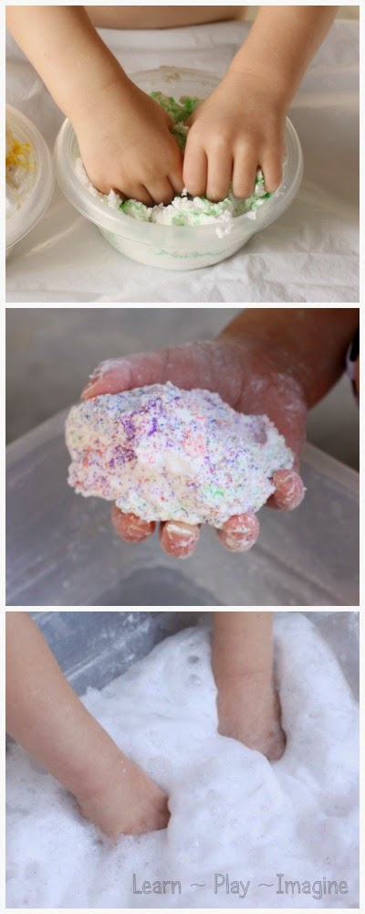 How to make sand foam dough, a dough recipe that fizzles, pops, bubbles, and foams like you wouldn't believe!