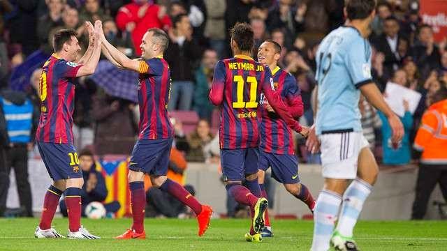 FC Barcelona-Celta de Vigo