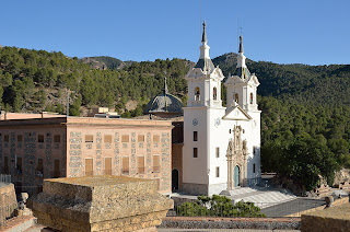 picture of the convent and Sanctuary of the Virgin of la Fuensanta
