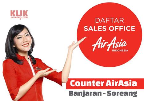 """Dimanakah Counter AirAsia Banjaran - Soreang?"""