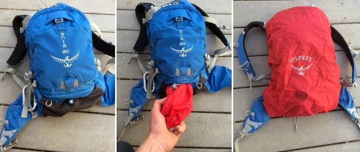 Osprey Manta 20 Hydration Pack Rain Cover
