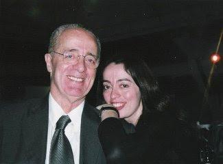Rildo Hora e sua filha Patrícia da Hora.