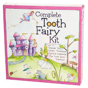 The kit comes in both a boy and girl theme and it contains everything below. (tooth fairy kit girl baby tooth album zoom)