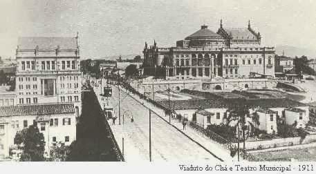 Teatro Municipal/Viaduto do Chá