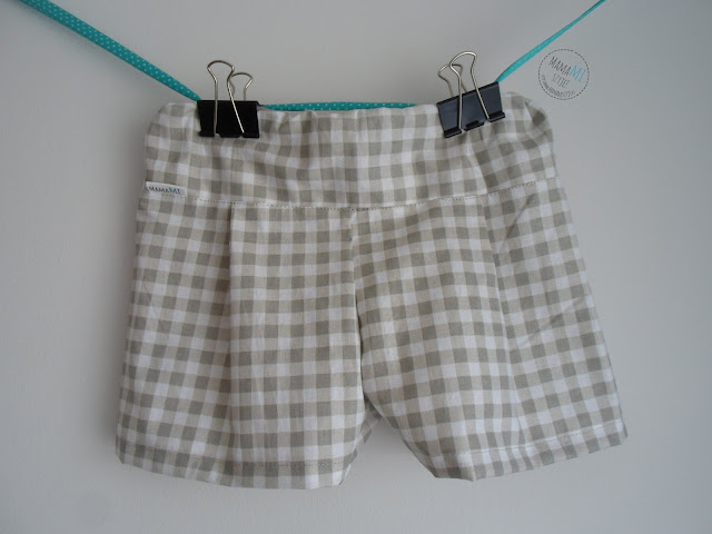 lato upał spodnie gumka krata eleganckie wygodne unisex chłopiec