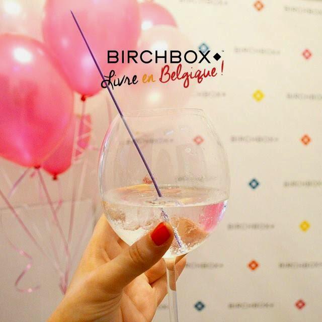 Birchbox livre en Belgique