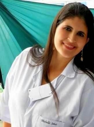 Fisioterapeuta Michelle Sanz