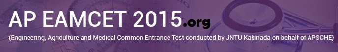 AP Eamcet 2015 Hall ticket download apeamcet.org