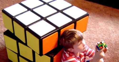 Diy un meuble fa on rubik 39 s cube - Rubik s cube geant ...