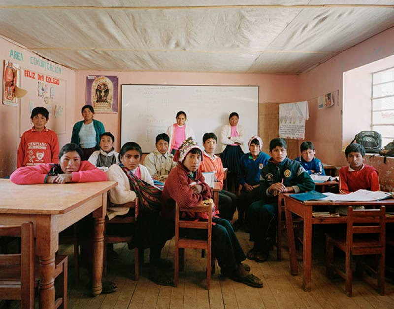 An Eye-Opening Look Into Classrooms Around The World - Peru, Tiracanchi, Secondary Grade 2, Mathematics