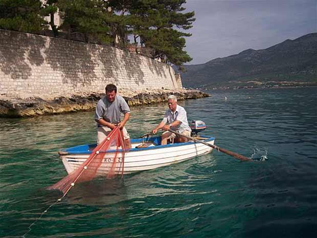 Fishing and hunting,fishing boat,fishing equipment and aquarium