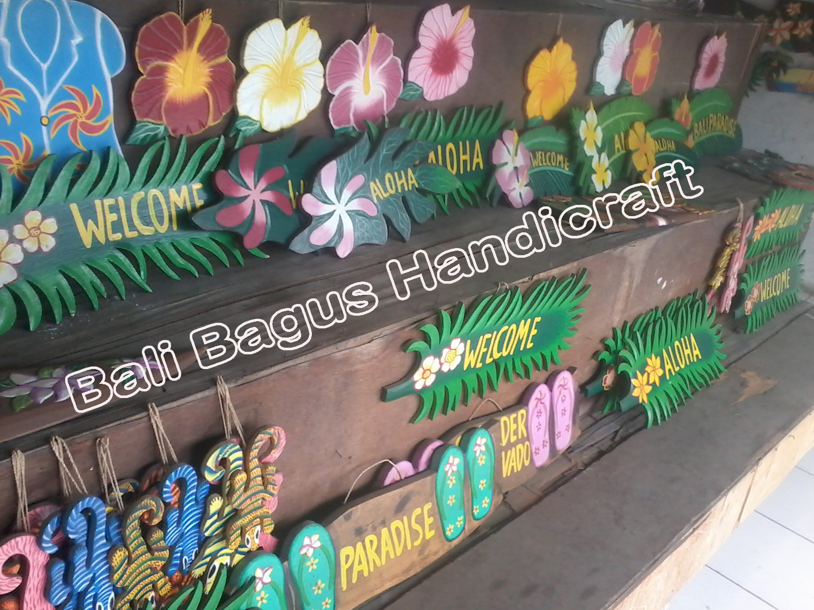 Signs Board Wood Carved Carvings Airbrush Dot Paint Hand