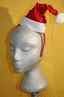 Red Licorice Santa Hat